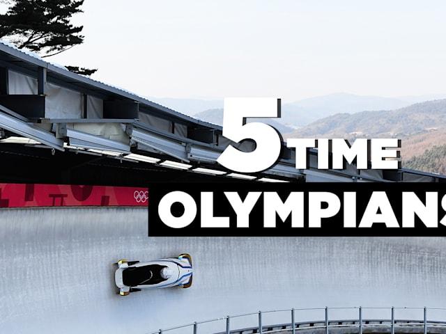 Cinq fois olympiens