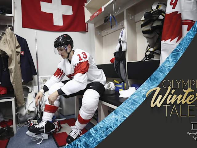 Hóquei no gelo: equipe masculina da Suíça