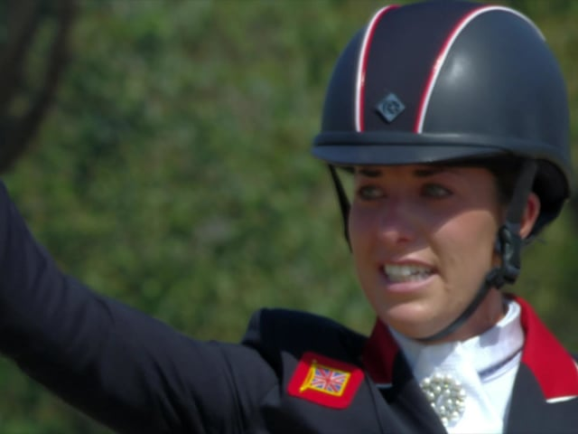 Dujardin wins Equestrian Dressage gold