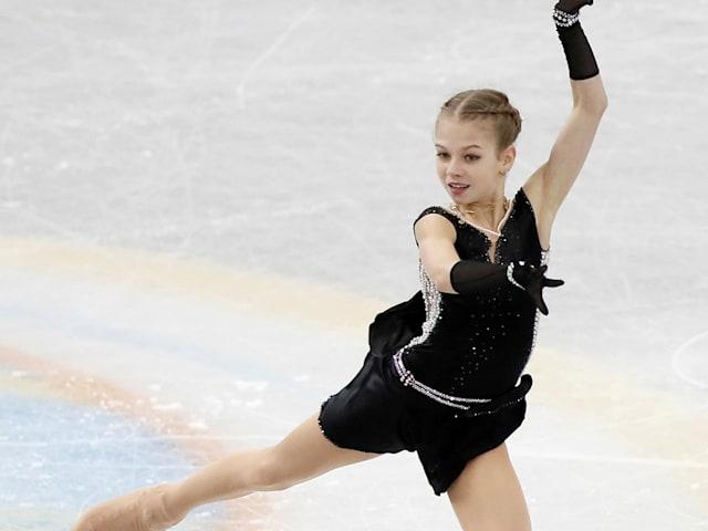 Exclusive! Figure skating prodigy Alexandra Trusova: