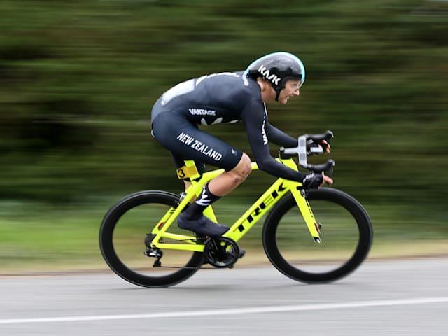 Hamish Bonda step closer to cycling at Tokyo 2020