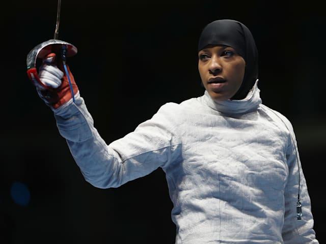 Olympic pioneer Ibtihaj Muhammad to hang up sabre