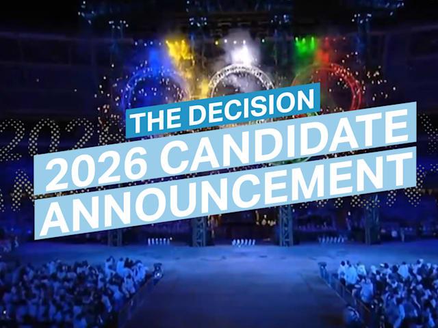 발표 행사: 2026 후보 도시