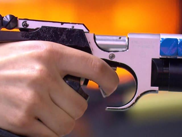 Final pistola de aire 10m (M)   Tiro - Juegos Europeos - Minsk