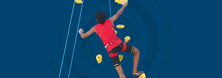 التسلق الرياضي
