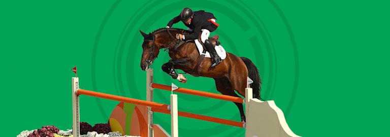 Deportes ecuestres - salto de obstáculos
