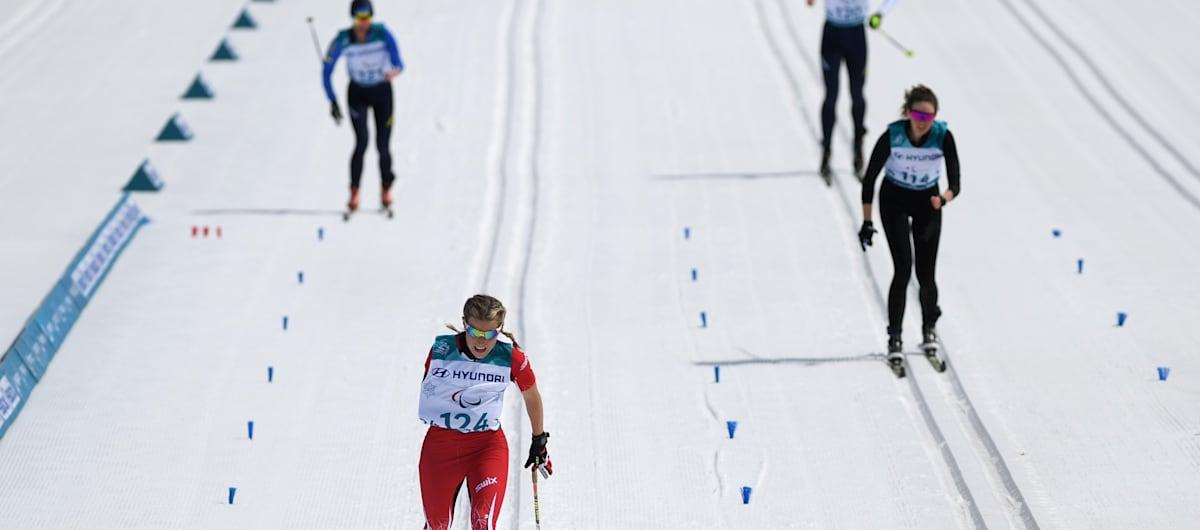 Skilanglauf Mittelstrecke   Weltmeisterschaften - Prince George