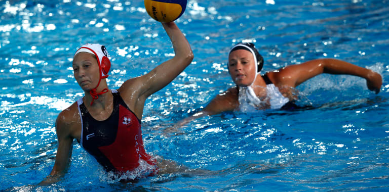 Women's - CAN v HUN | Water Polo - FINA World Championships - Gwangju