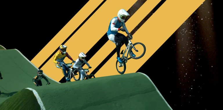 Is It Possible to Race a Perfect BMX Lap?