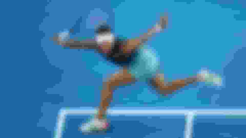 Naomi Osaka during the 2019 Australian Open final