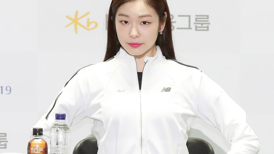 Yuna Kim at the official press conference for 'All That Skate 2019' on 4 June 2019