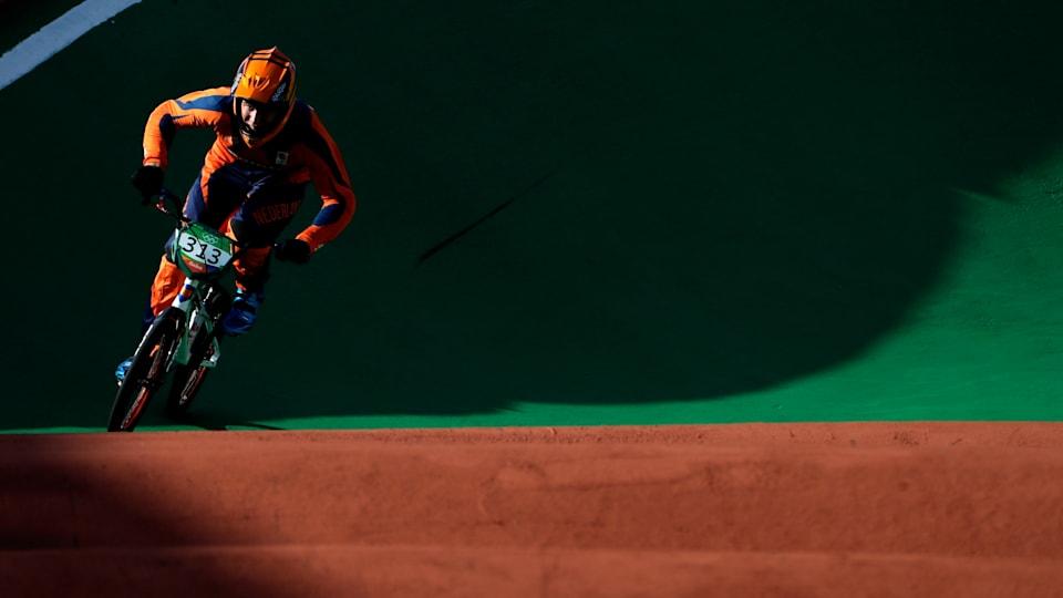 今季初勝利を飾ったニック・キマン(写真はリオ五輪)