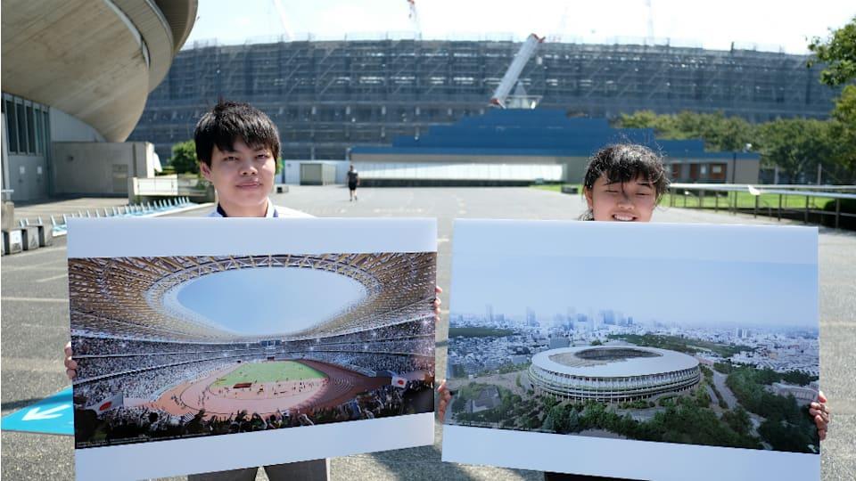 新国立競技場は3つの階層が連なる3層構造となっている