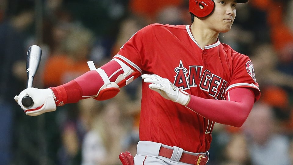 Shohei Ohtani in action for the Los Angeles Angels
