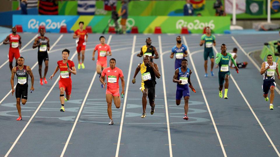 リオ五輪の男子4x100mで日本は銀メダルを獲得した