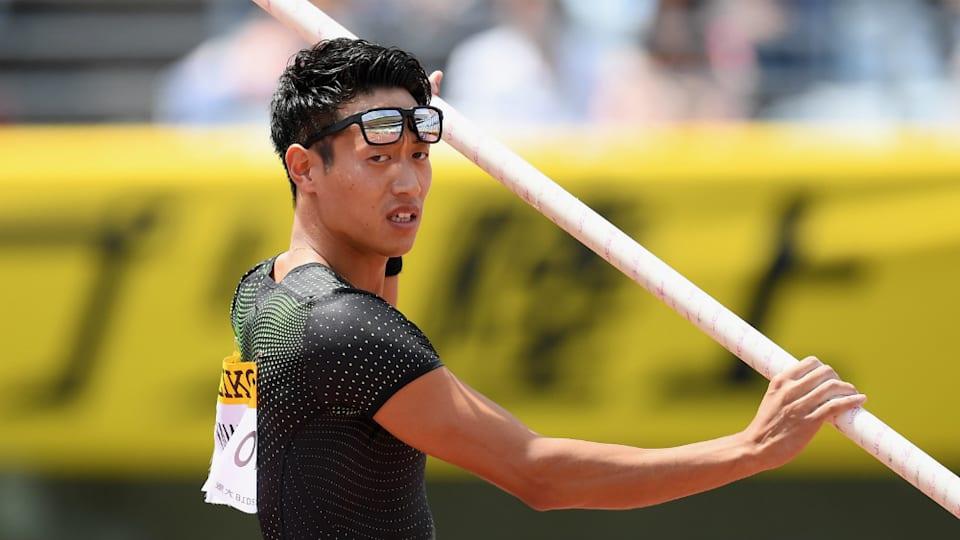 棒高跳びの山本聖途は2019年5月、ダイヤモンドリーグ開幕戦で5m61の記録を出し、3位の好成績を収めている