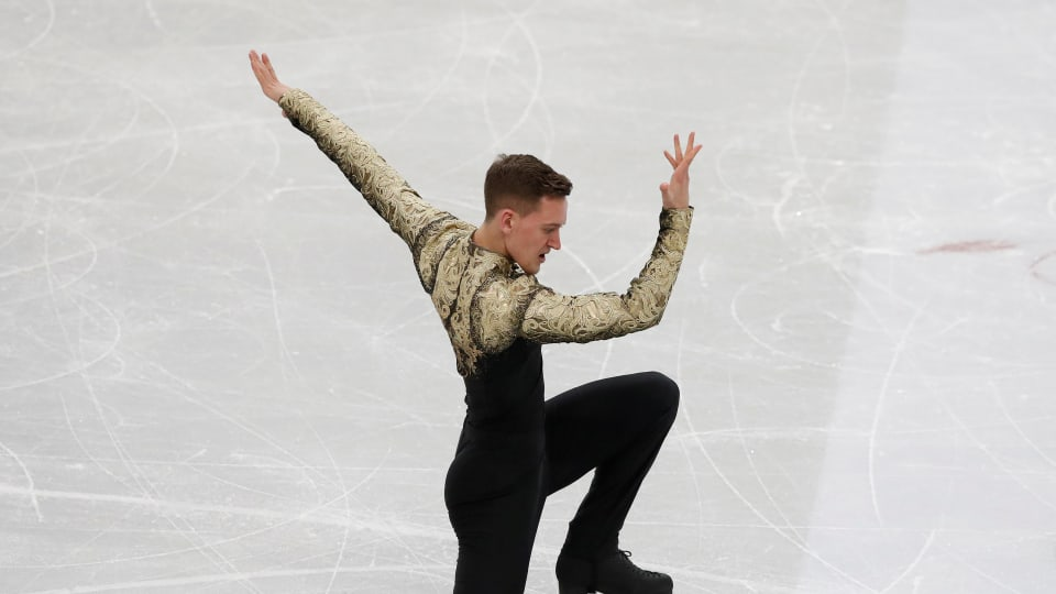 Four-time Russian champion Maxim Kovtun took silver at the Winter Universiade in Krasnoyarsk, Russia