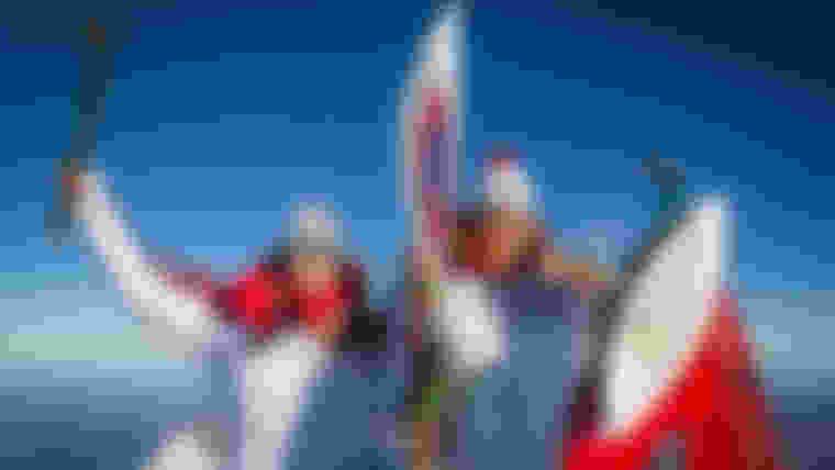 Le fabuleux parcours de la flamme olympique