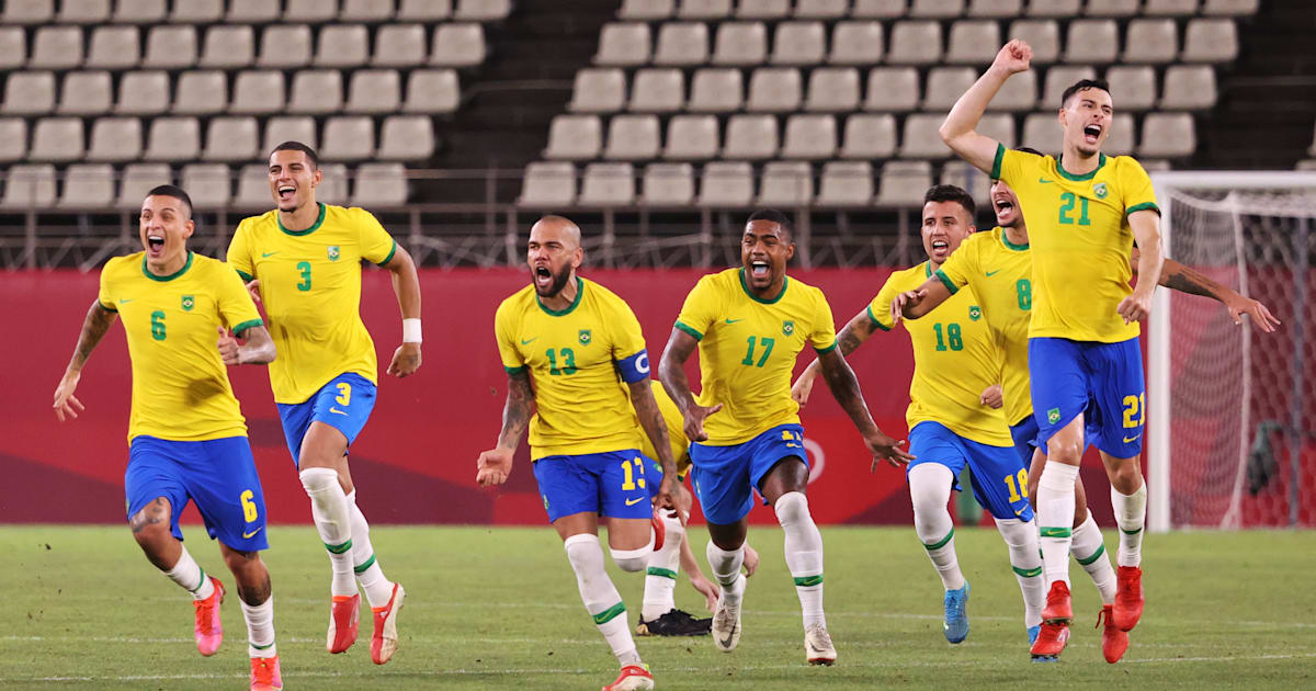 Brazil to defend title against Spain in Tokyo Olympics men's football - watch live