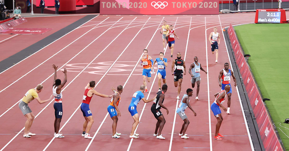 Tokyo 2020, men's 4x400m relay final: USA title defence faces Jamaican challenge - watch live