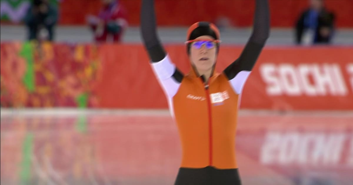 I Wust Silber Damen 5000m Eisschnelllauf Sotschi 2014