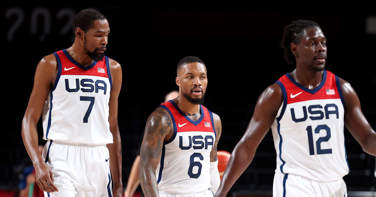 USA eye fourth-straight Tokyo Olympics men's basketball gold, play France in final - watch live