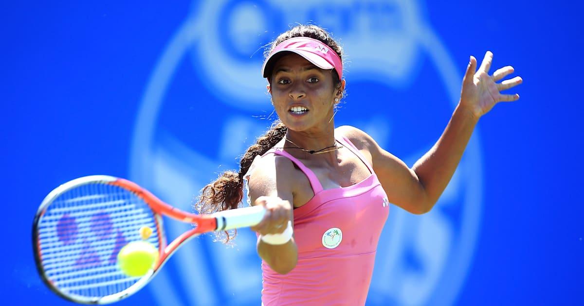 Ankita Raina étonne l'ancienne finaliste de Roland-Garros Sara Errani