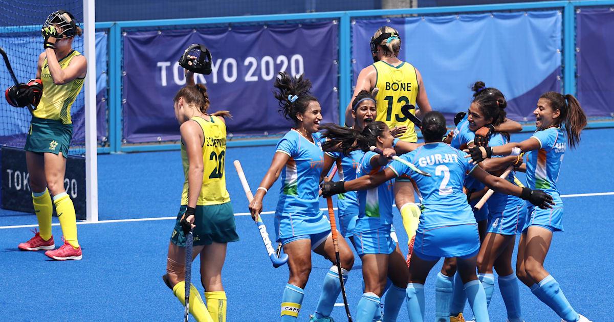 Indian women's hockey team upsets Australia, create Olympics history