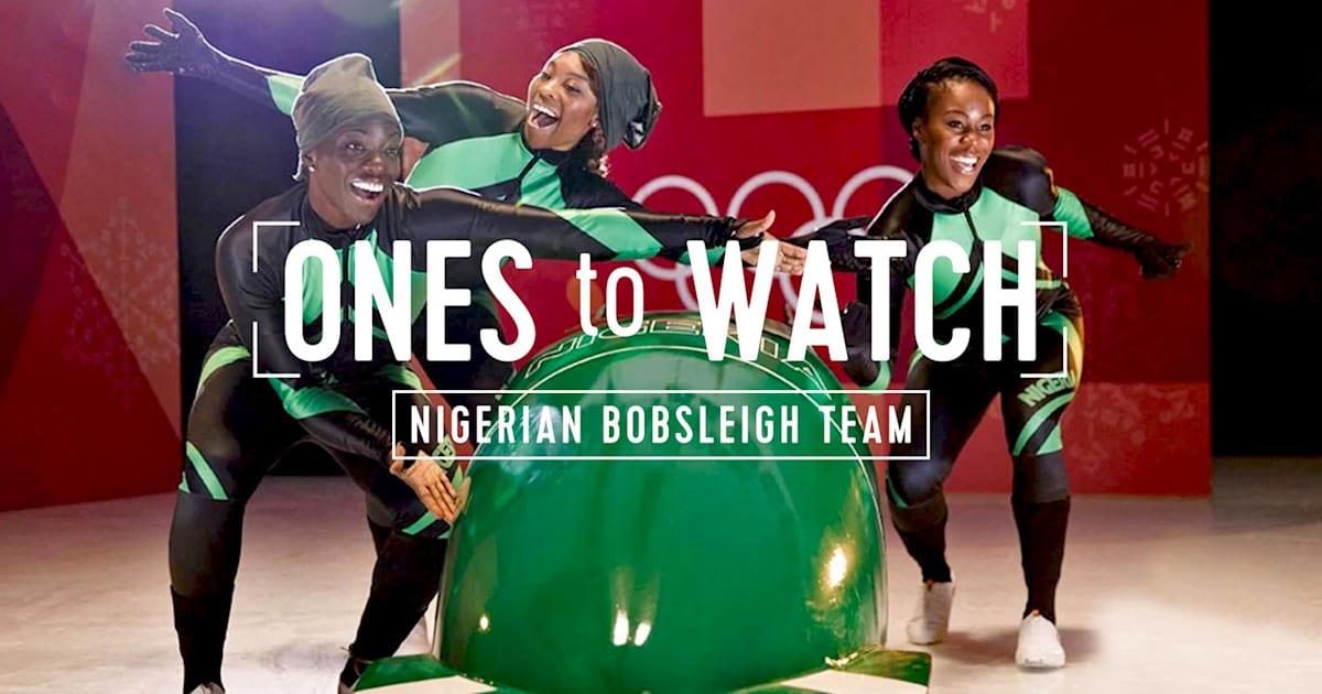 fc3501e558 A equipe de bobsleigh pioneira das mulheres nigerianas