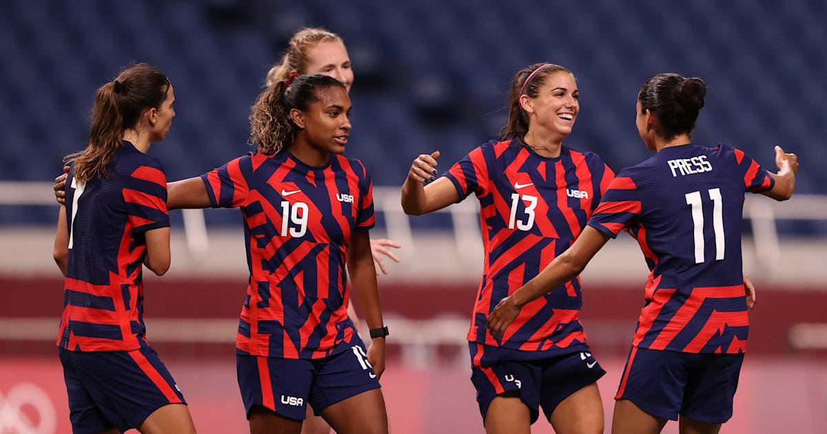 Tokyo Olympics: USA face Australia in women's football Group G match - watch live