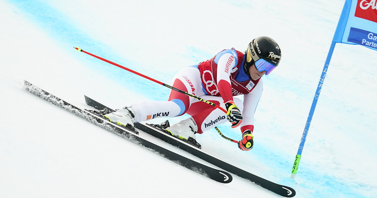 Gut-Behrami extends an overall lead after the second downhill win at Val di Fassa