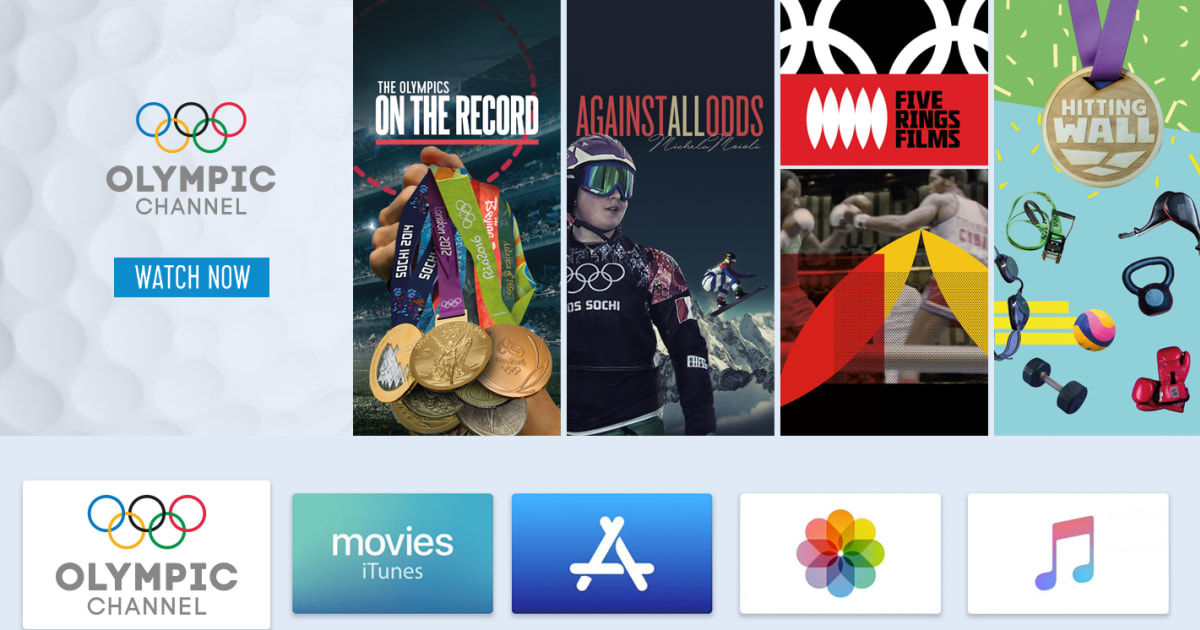 Watch Olympic Channel on Connected TV Devices